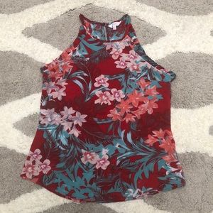 CANDIE'S Hawaiian flower tank